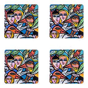 Åry Home Romance Glasunderlägg 4-pack