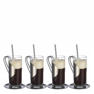 Dorre Irish coffee sett med skjeer