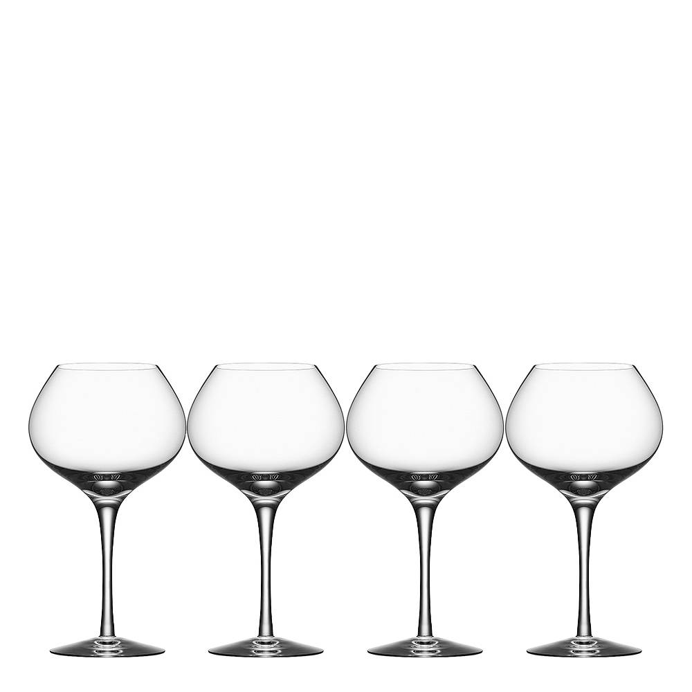 Orrefors More Vinglass mature 48 cl 4-pk