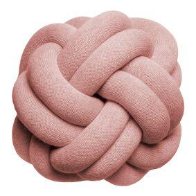 Design House Knot Pute 30 cm Pudderrosa