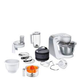 Bosch CreationLine Kjøkkenmaskin Hvit/Sølv