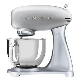 SMEG 50's Style Kjøkkenmaskin Sølvgrå