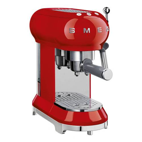 SMEG Retro Espressomaskin Röd