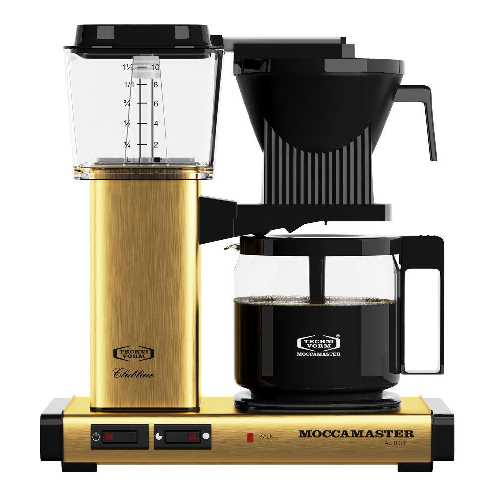 Moccamaster Kaffebrygger KBGC982AO Messing