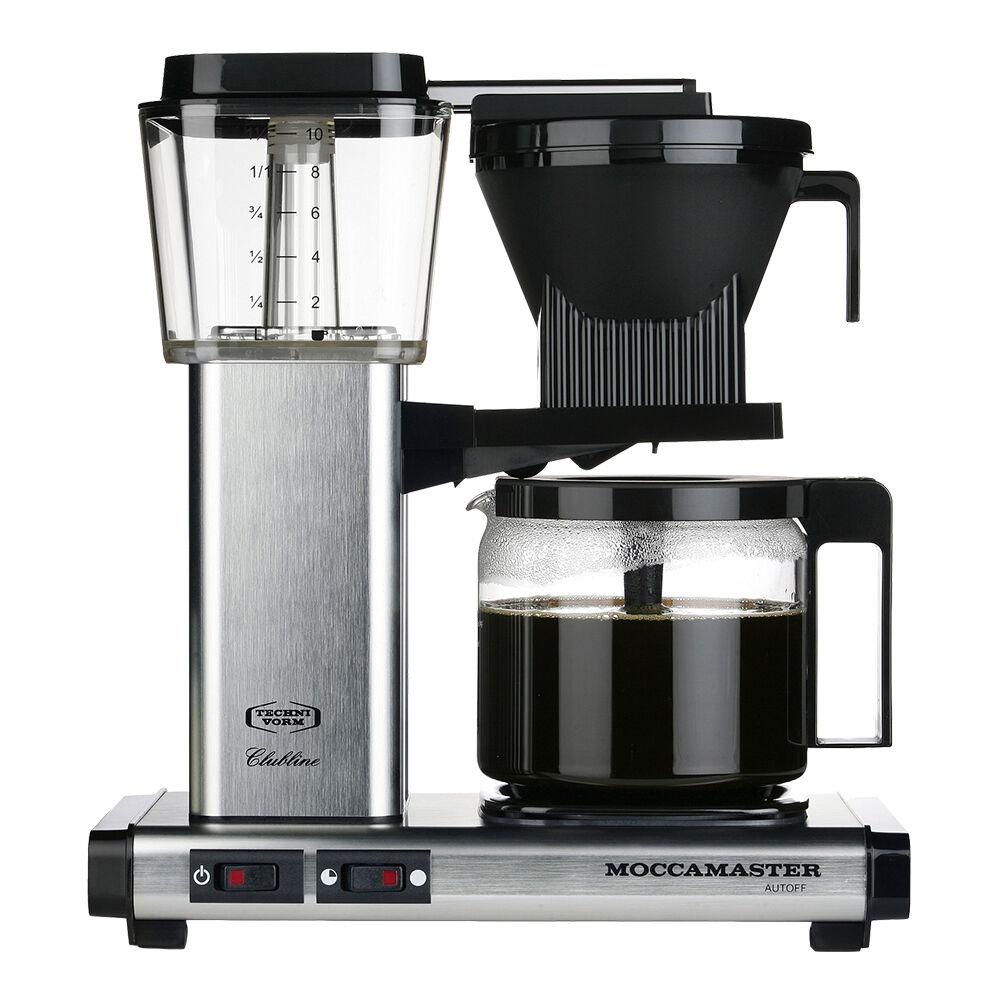 Moccamaster Kaffebrygger KBG962AO Brushed