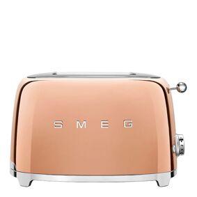 SMEG 50's Style Brødrister 2 skiver Roségull