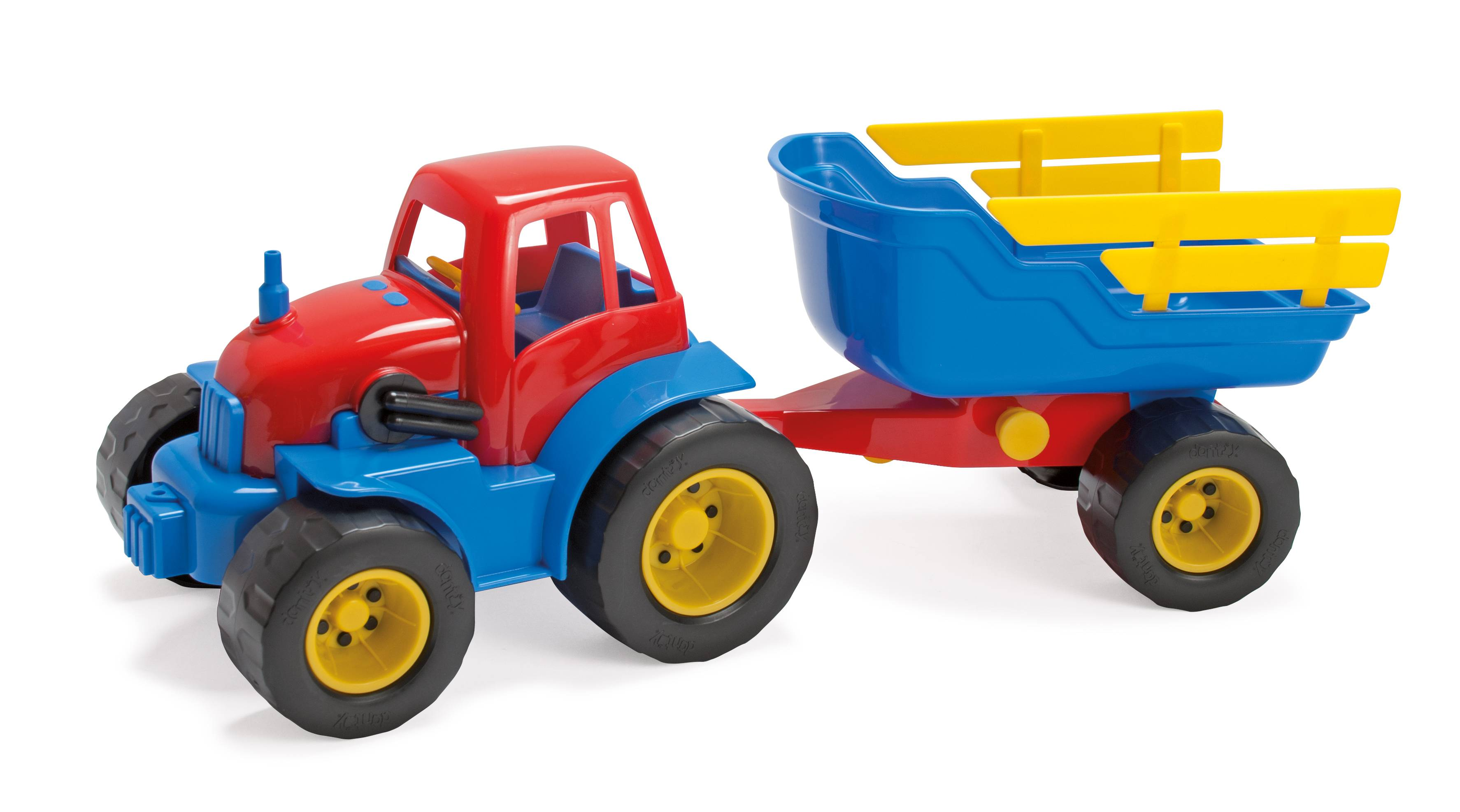 Dantoy - Tractor with trailer (2135)