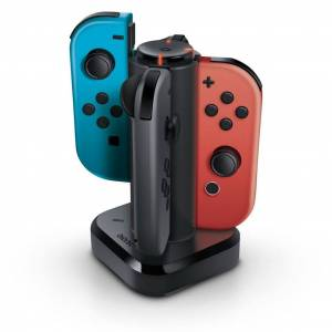 Bionik Tetra Power Quad Port Joy-Con Charging Dock (Nintendo Switch)