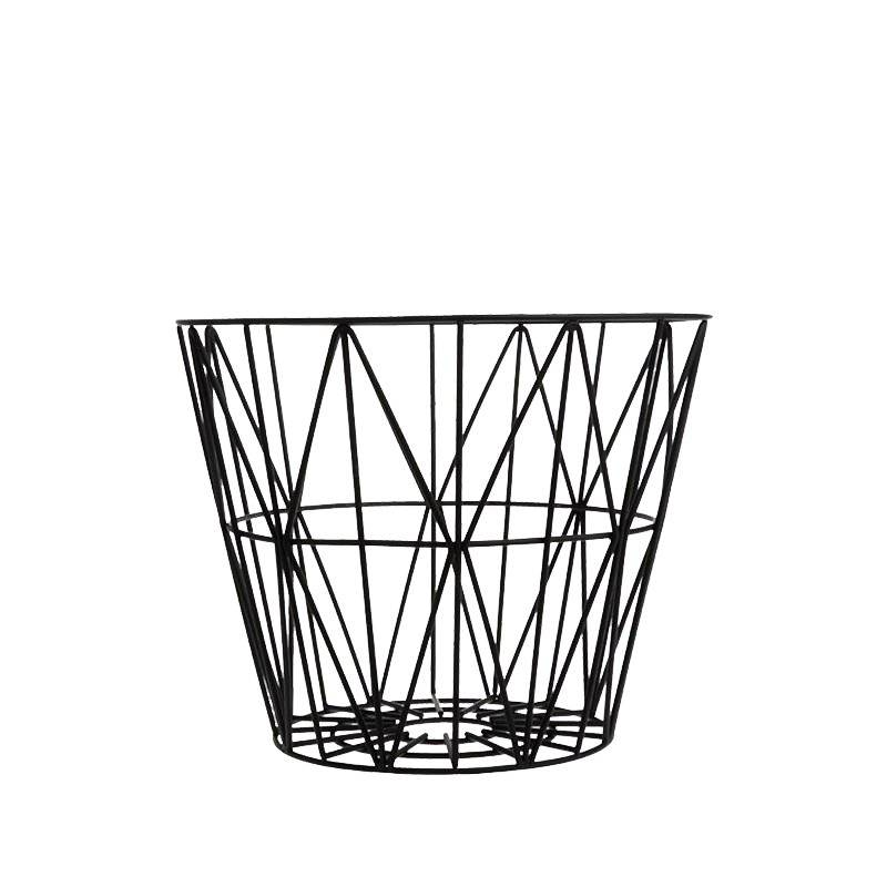 Ferm Living - Wire Basket Small - Black (3060)