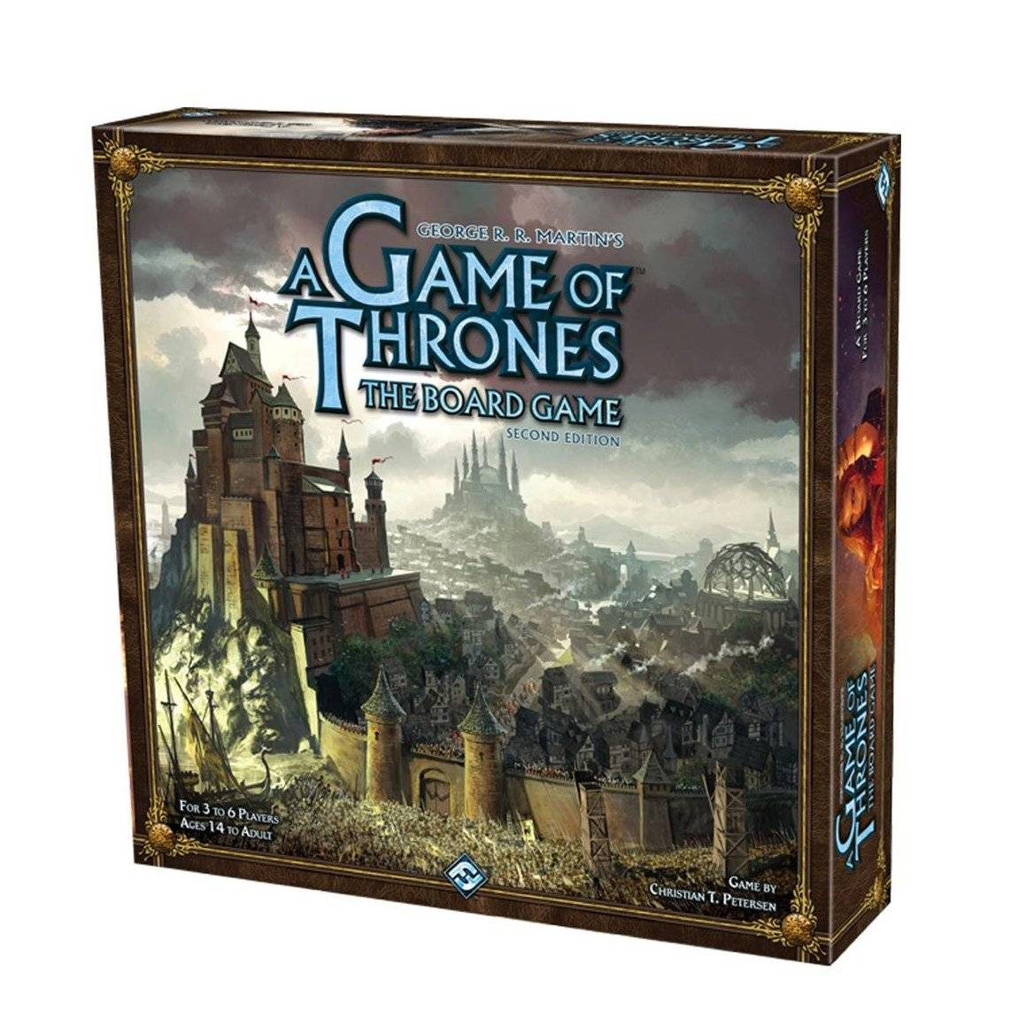 Fantasy Flight Games A Game Of Thrones Board Game 2nd Edition