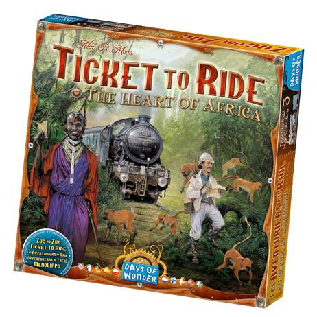 Enigma Ticket to Ride - The Heart of Africa
