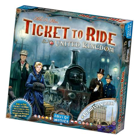 Enigma Ticket To Ride - United Kingdom