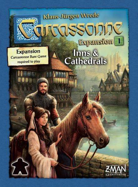 Enigma Carcassonne - Inns and Cathedrals (Nordic)
