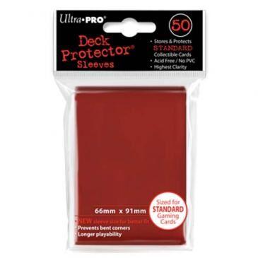 Ultra PRO - Deck Pro (50pcs) - Red (ULT82672)