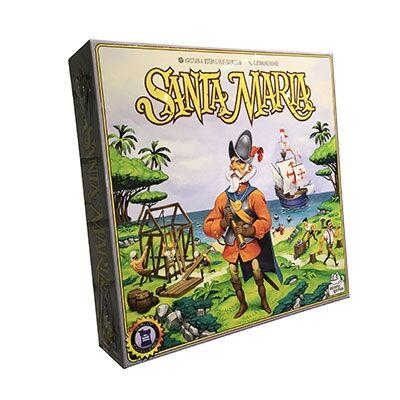 Lautapelit Santa Maria - Boardgame (Nordic)