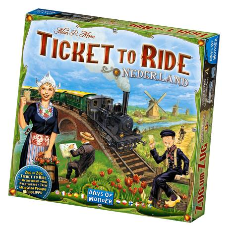 Enigma Ticket to Ride - Nederland