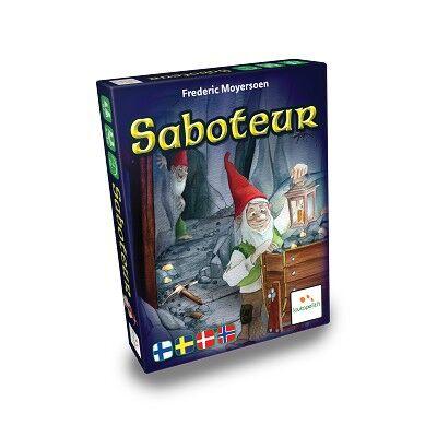 Lautapelit Saboteur (Nordic)