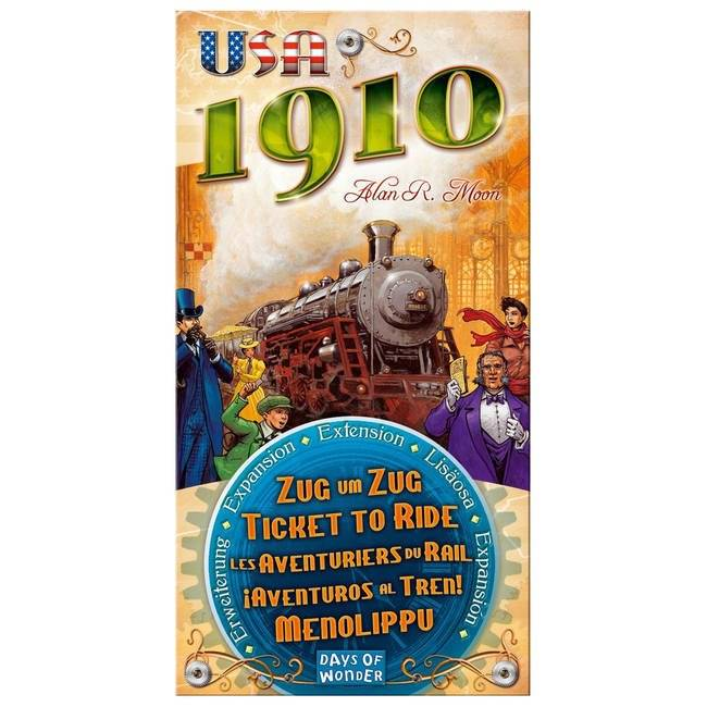 Enigma Ticket To Ride - USA 1910