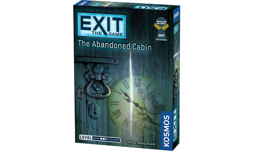 Lautapelit Exit: The Abandoned Cabin (English)