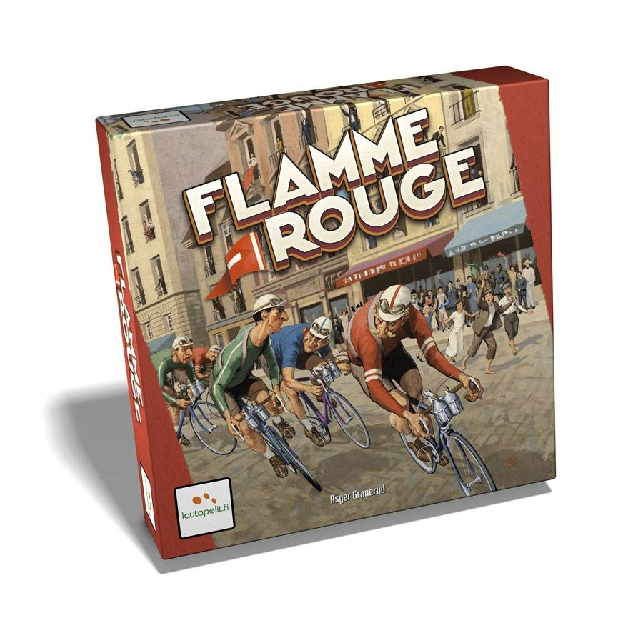 Lautapelit Flamme Rouge Boardgame (English)
