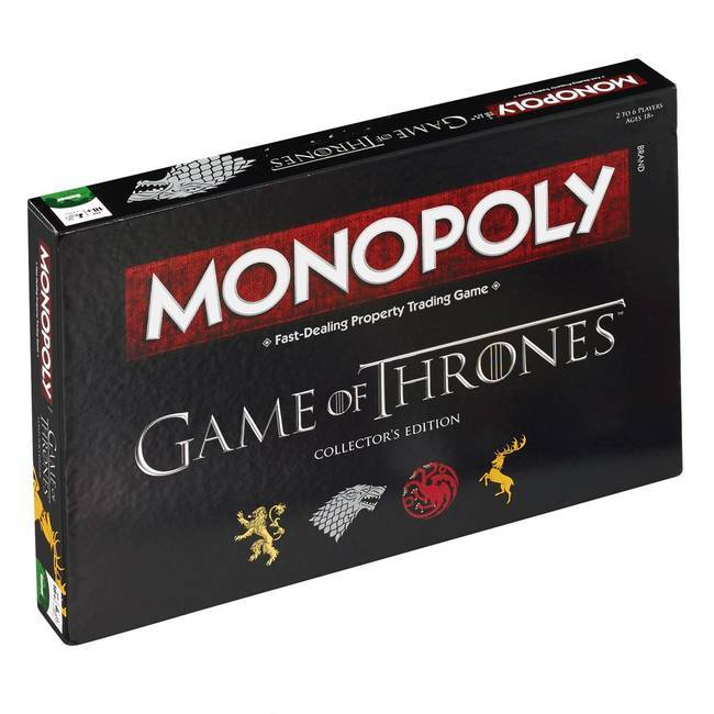 Monopoly - Game Of Thrones - Collectors Edition (English)