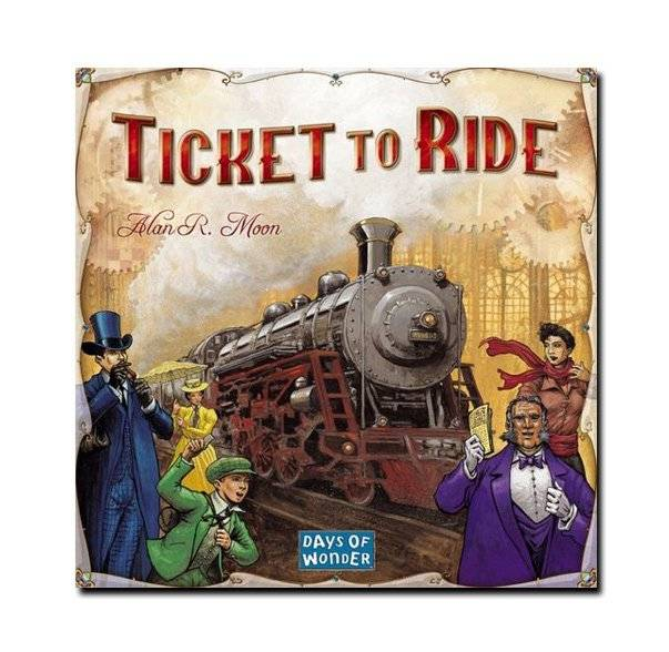 Days of Wonder Ticket to Ride - USA (English)