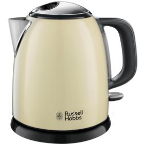 Russell Hobbs Colours Plus Mini Kettle Cream Vannkoker - Krem