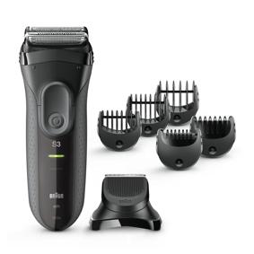 Braun Series 3 Shave&Style 300 3000bt Barbermaskin - Svart