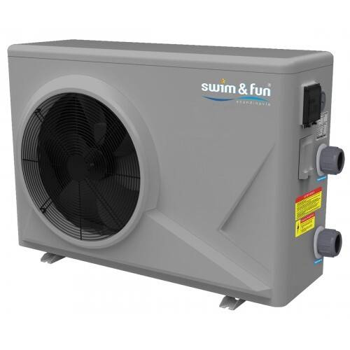 Swim & Fun Heat Pump Inverter ABS cabinet