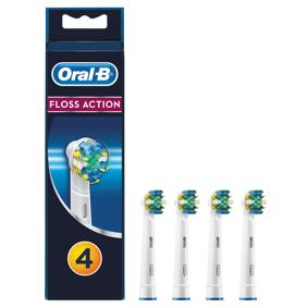 Oral-b Flossaction 4-pack Tilbehør Til Elektrisk Tannbørste