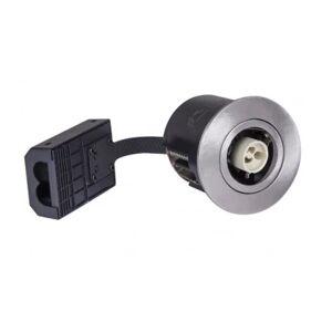 LEDlife Inno88 Utendørs - GU10, børstet stål, IP44, direkte i isolasjon