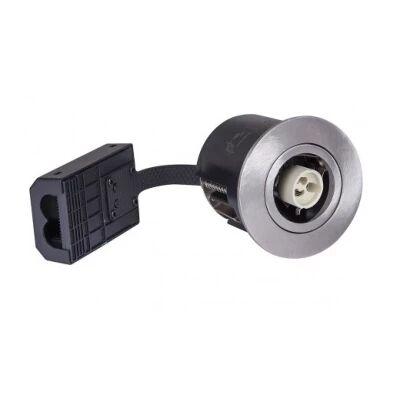LEDlife Inno88 - Utendørs, GU10, børstet stål, IP44, direkte i isolasjon