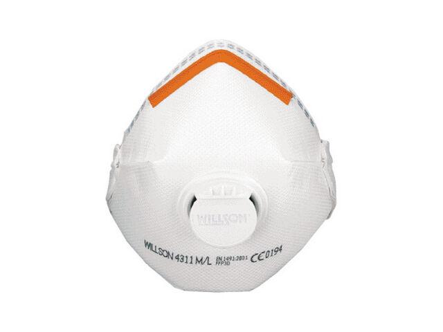 Filt halvmask ffp3d v 4311 m/l