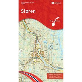 Nordeca Kart Norge-serien 1:50 000 Støren Kartblad 10085