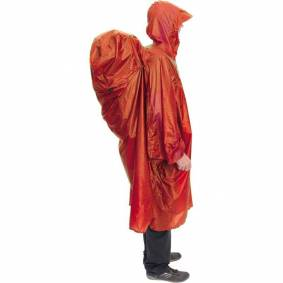 Exped Pack Poncho UL terracotta S