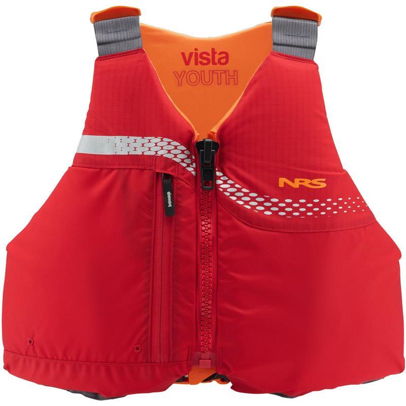 NRS Vista Youth PFD red