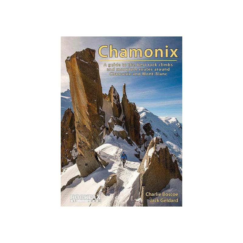 DVD/Bøker Klatrefører: Chamonix - Rockfax