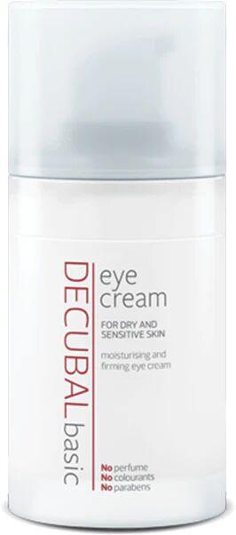 Decubal Basic Eye Cream gir fuktighet og næring, og strammer opp huden rundt øynene - 15ml