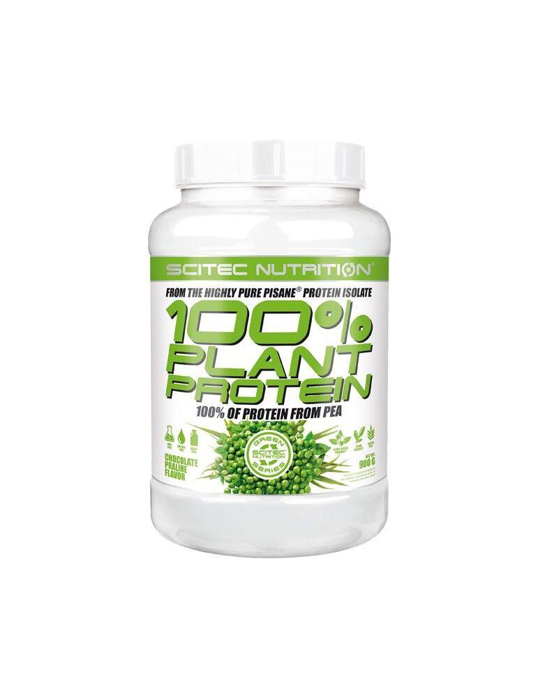Scitec Nutrition 100% Plant Protein (erteprotein) - 900g Scitec Nutrition