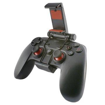Ksix Gamedroid 2 Trådløs Kontroller - Android, PC - Svart