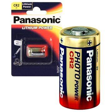 Panasonic Photo Power CR2 Batteri CR-2L/1BP