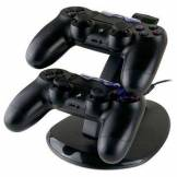 MTP Products Sony PlayStation 4 Dobbel Controller ladestasjon med USB-ladekabel