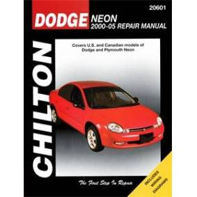 Haynes Reparationshandbok, Dodge Neon, Universal