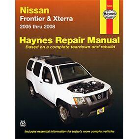 Haynes Reparationshandbok, Nissan Frontier & Xterra, Universal