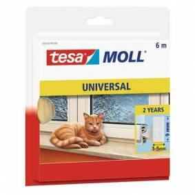 Tesa Tesamoll Universal Tetningstape skum, 6 m, 9 mm x 6 mm