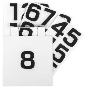Hide-a-Lite 7703333 Nummerskilt for Edge/Cube Hvit