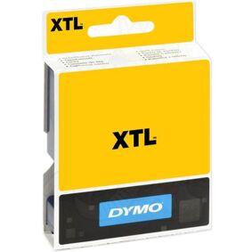 Dymo XTL Teip flerfunksjonsvinyl 19mm Svart på gult