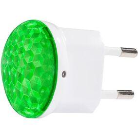 CAPiDi NL8 Nattlampe med sensor grønn