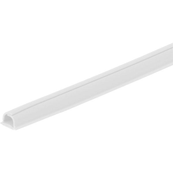 Plasfix Cablefix 2201 Kabelkanal hvit, selvheftende, 4-pakning 1 m x 8 mm