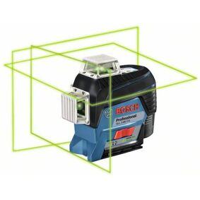 Bosch GLL 3-80 CG Krysslaser grønn, med L-BOXX, uten batteri og lader